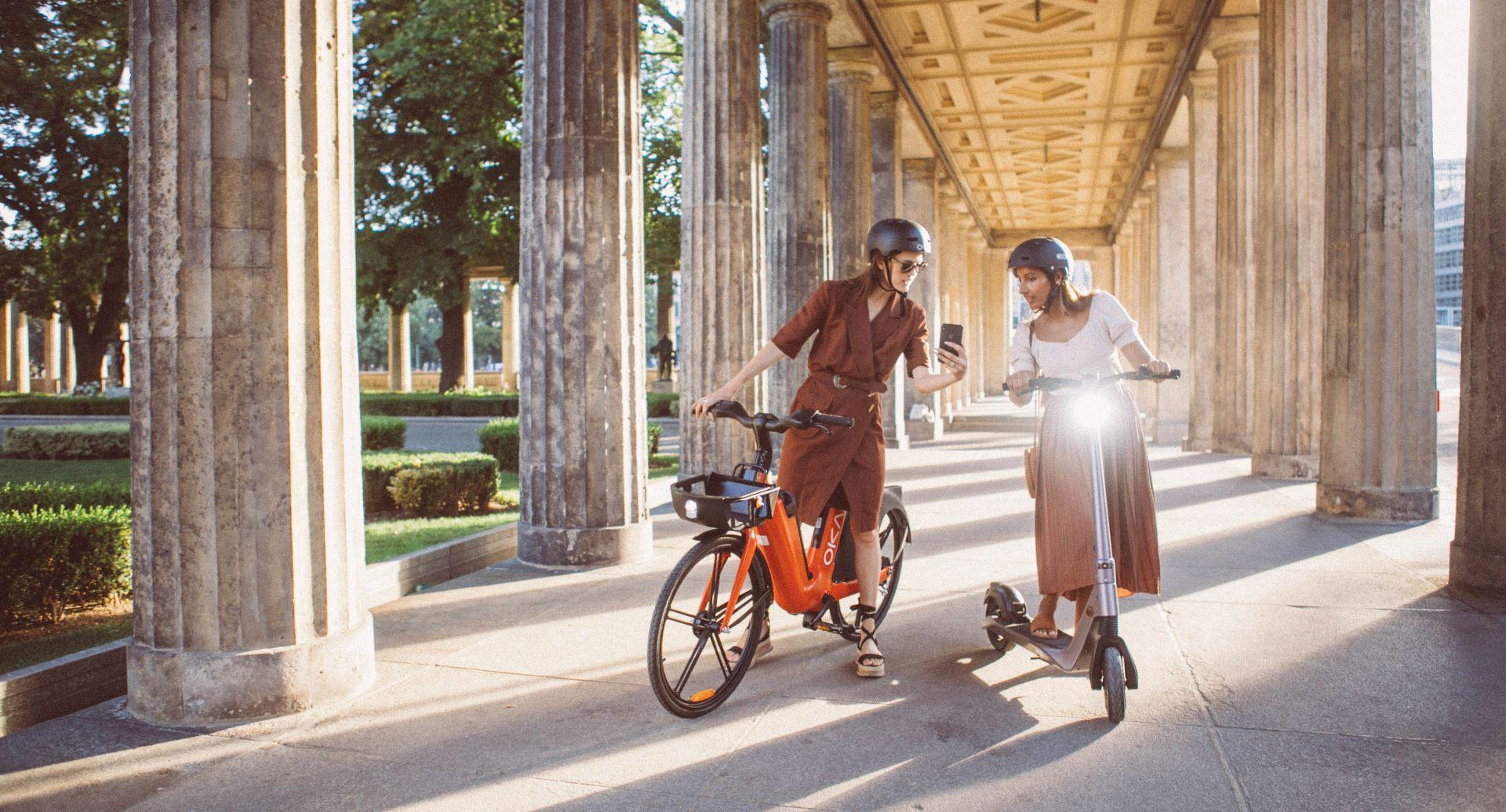 Mestno električno kolo za poceni, učinkovito in hitro premikanje