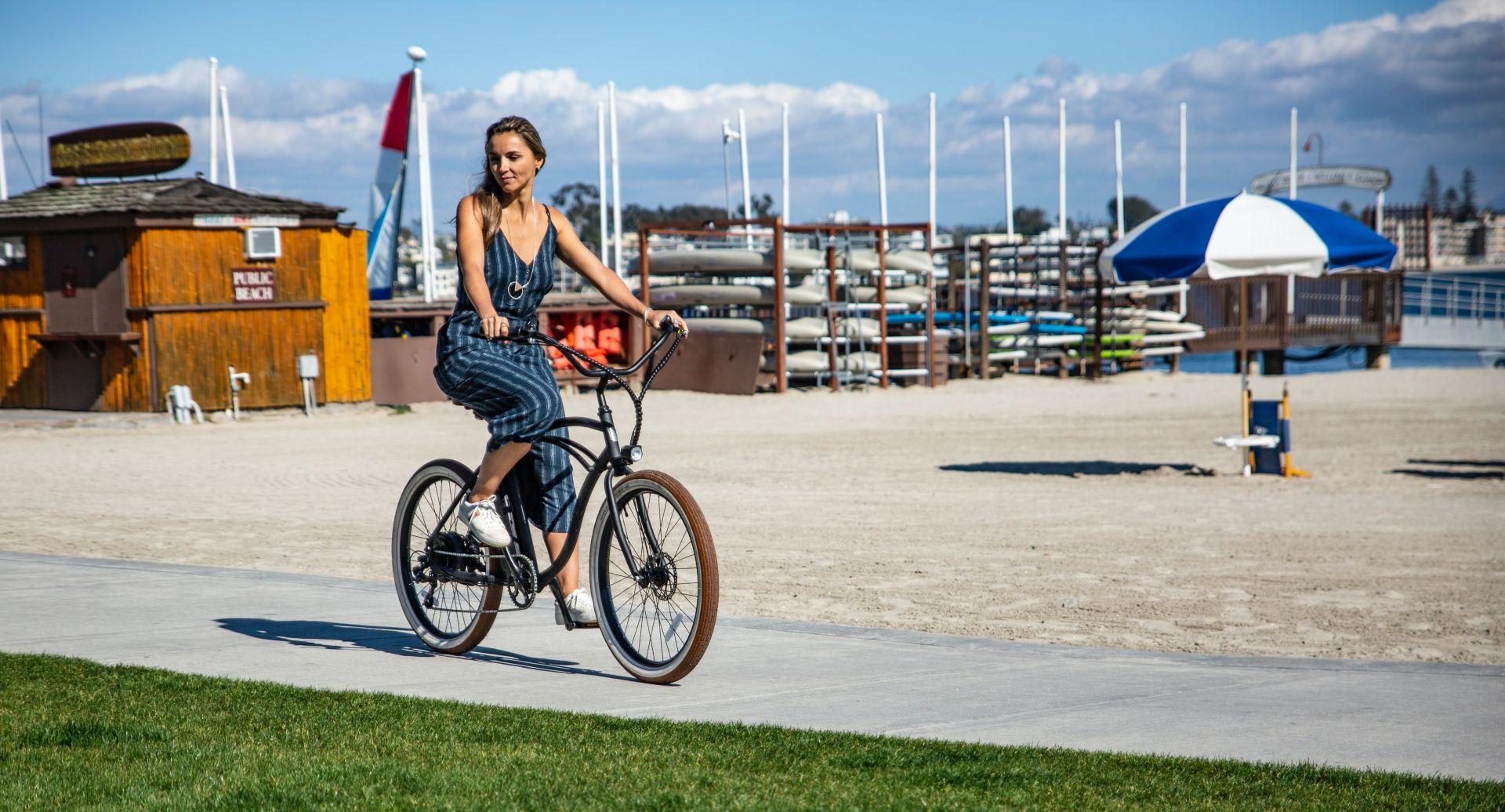 Kako izbrati najboljše žensko električno kolo